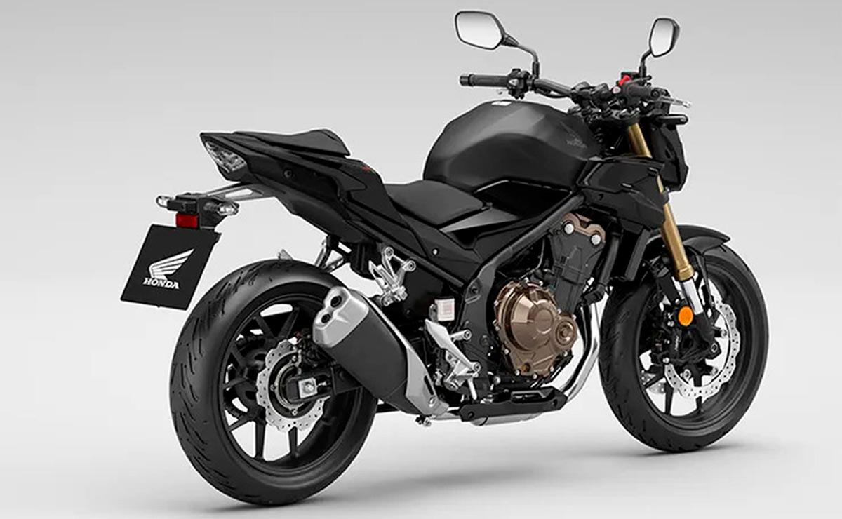 Honda CB500F 2022 negra