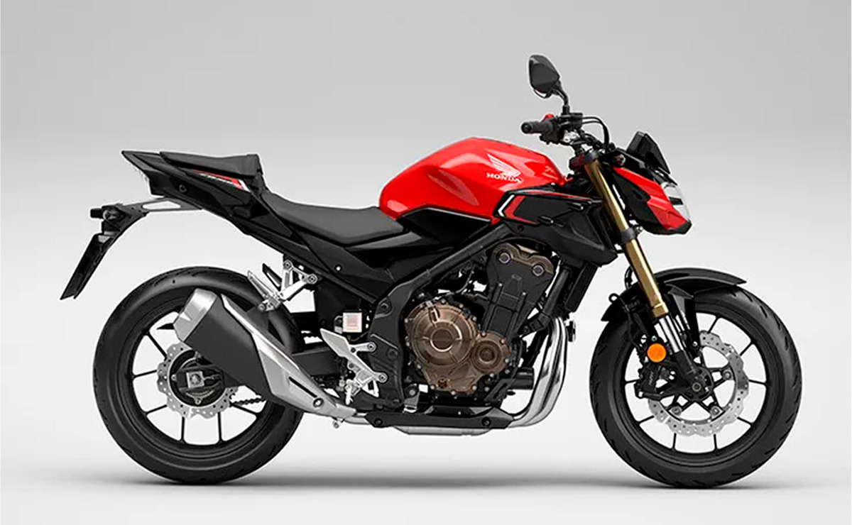 Honda CB500F 2022 roja