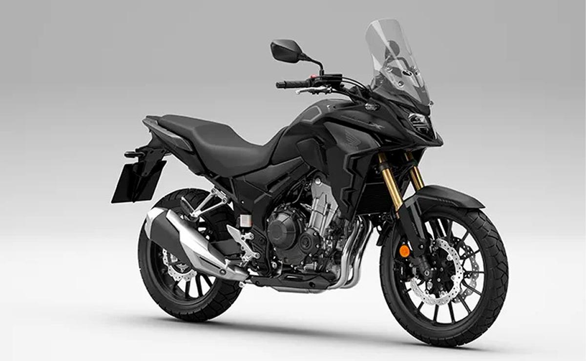 Honda CB500X 2022 negra