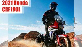 Honda CRF190L Africa Twin baja cilindrada acción desierto