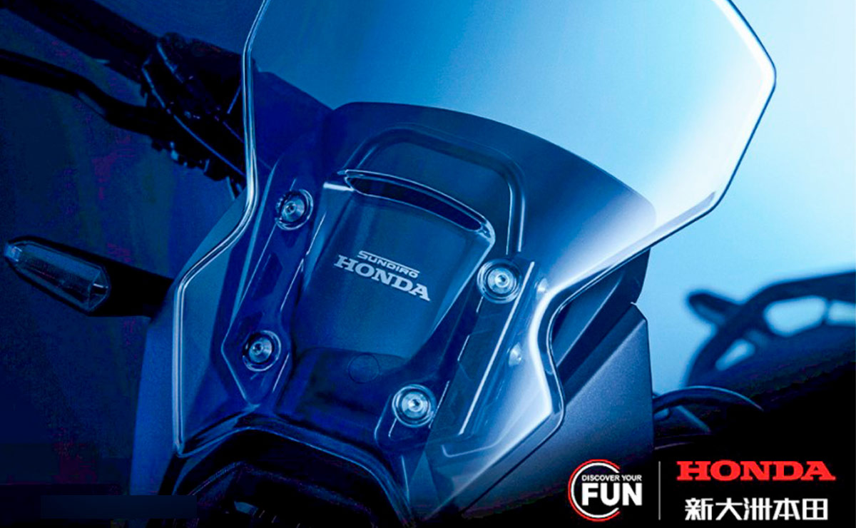 Honda CRF190L Africa Twin detalle pantalla