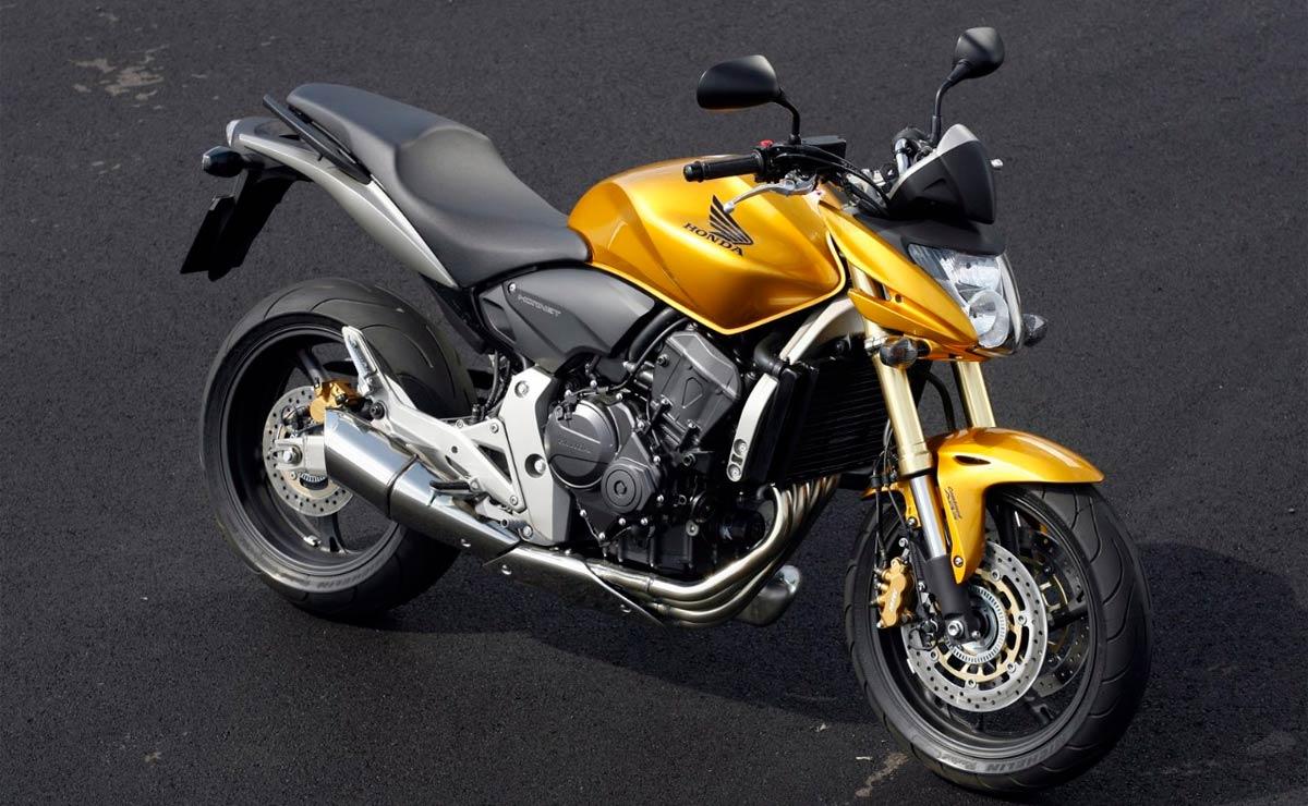 Honda Hornet amarilla