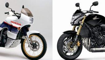 Honda nuevos modelos Transalp Hornet 750