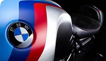Logo BMW tanque