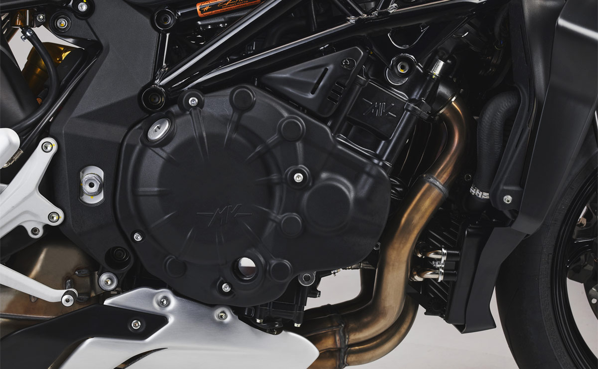 MV Agusta Brutale 1000 RS 2022 detalle motor