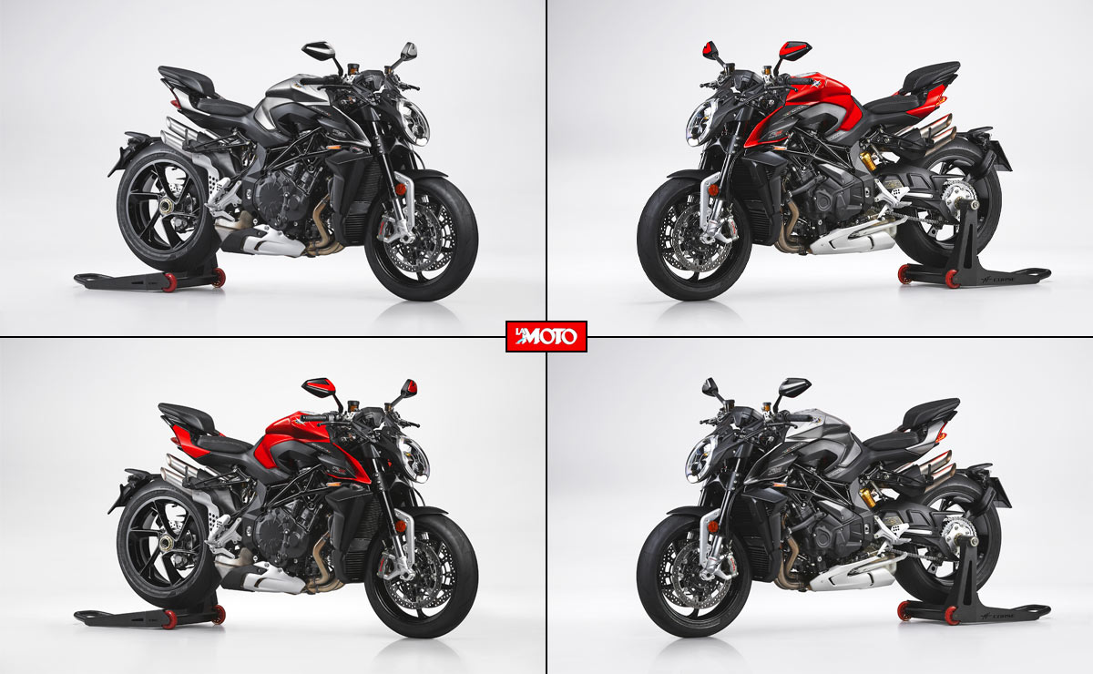 MV Agusta Brutale 1000 RS 2022 dos colores laterales