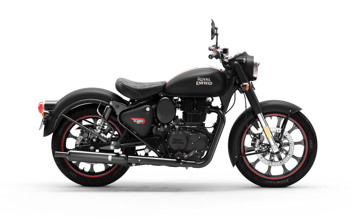 Royal Enfield Classic 350 2021 Dark negra