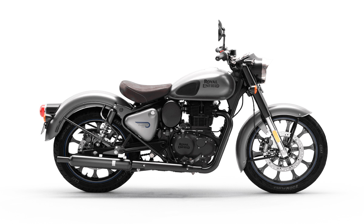 Royal Enfield Classic 350 2021 gris metálico