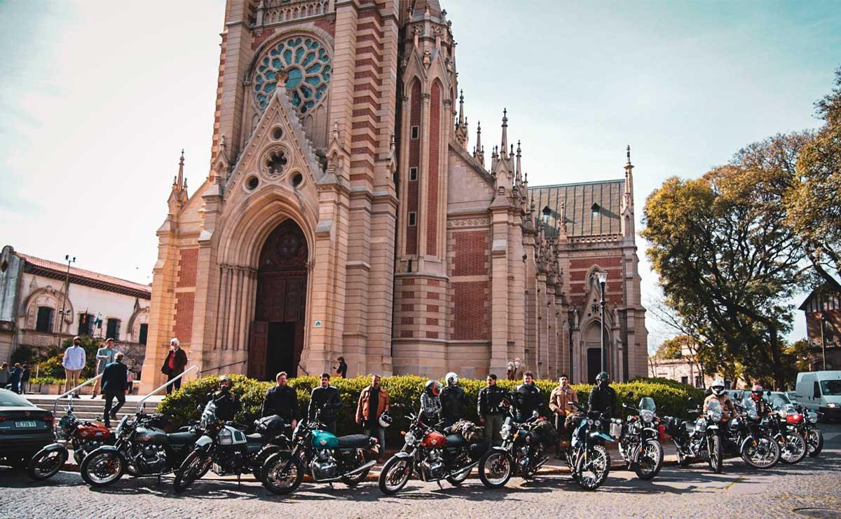 Tour Argentina 2021 Royal Enfield Catedral San Isidro