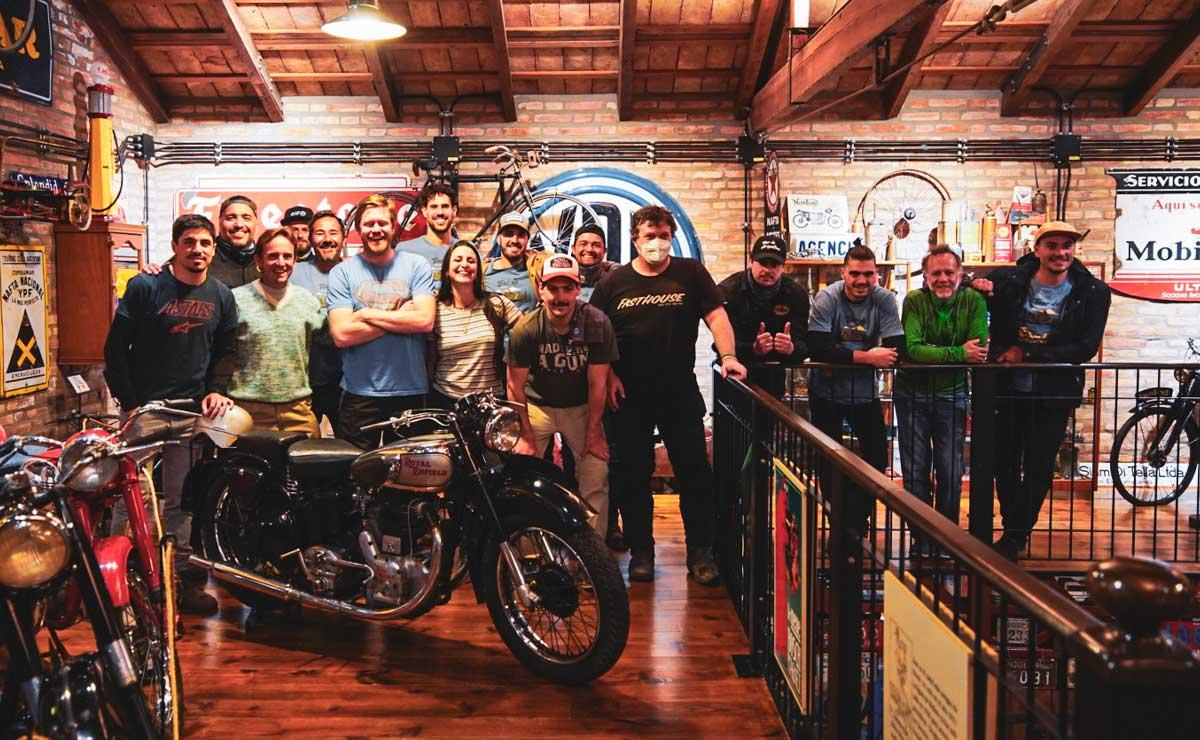 Tour Argentina 2021 Royal Enfield museo motos y bicicletas