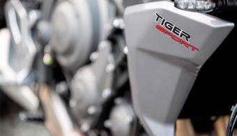 Triumph Tiger Sport 660 panel lateral