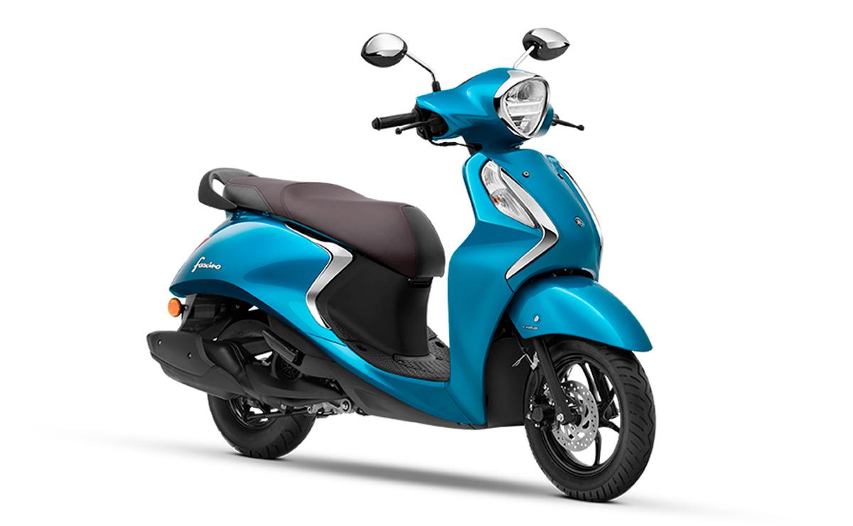 Yamaha Fascino 125 Híbrido azul