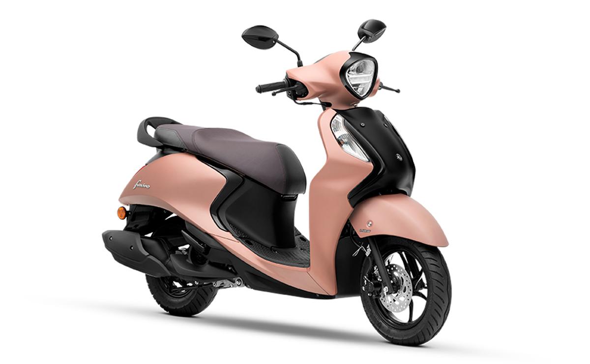 Yamaha Fascino 125 Híbrido rosa