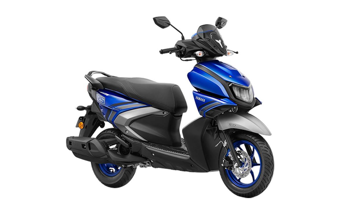 Yamaha Ray 125 Híbrido azul