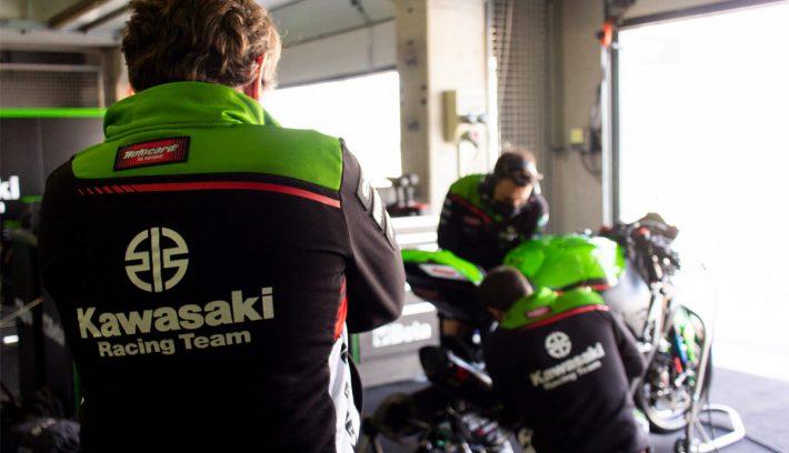 Kawasaki Mundial de Superbike el equipo