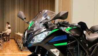 Kawasaki motos híbridas prototipo