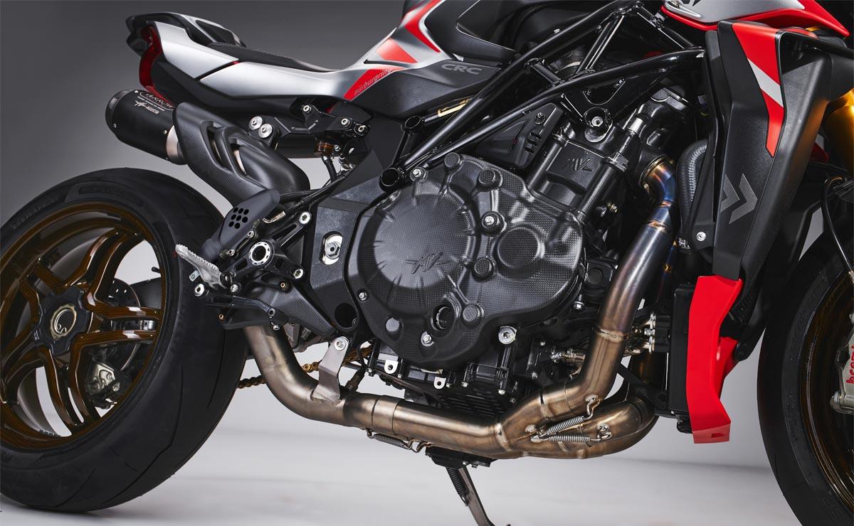 MV Agusta Brutale 1000 RR Nürburgring detalle motor