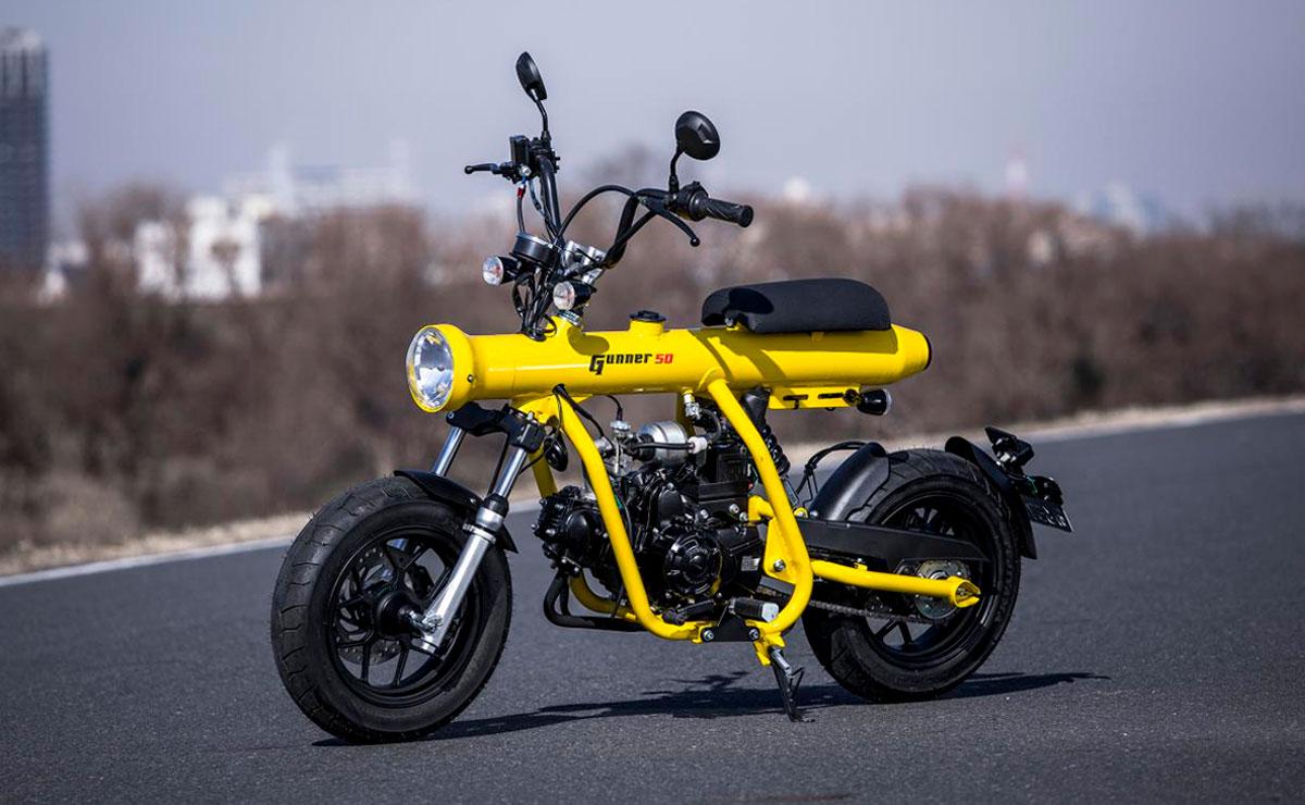 Minibike Gunner 50 amarilla
