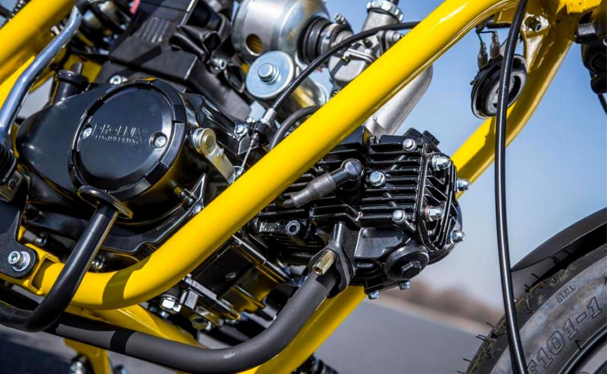 Minibike Gunner 50 detalle motor