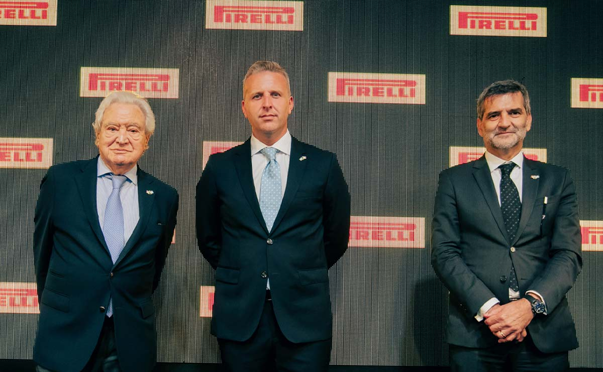 Pirelli 111 años en Argentina dirigentes