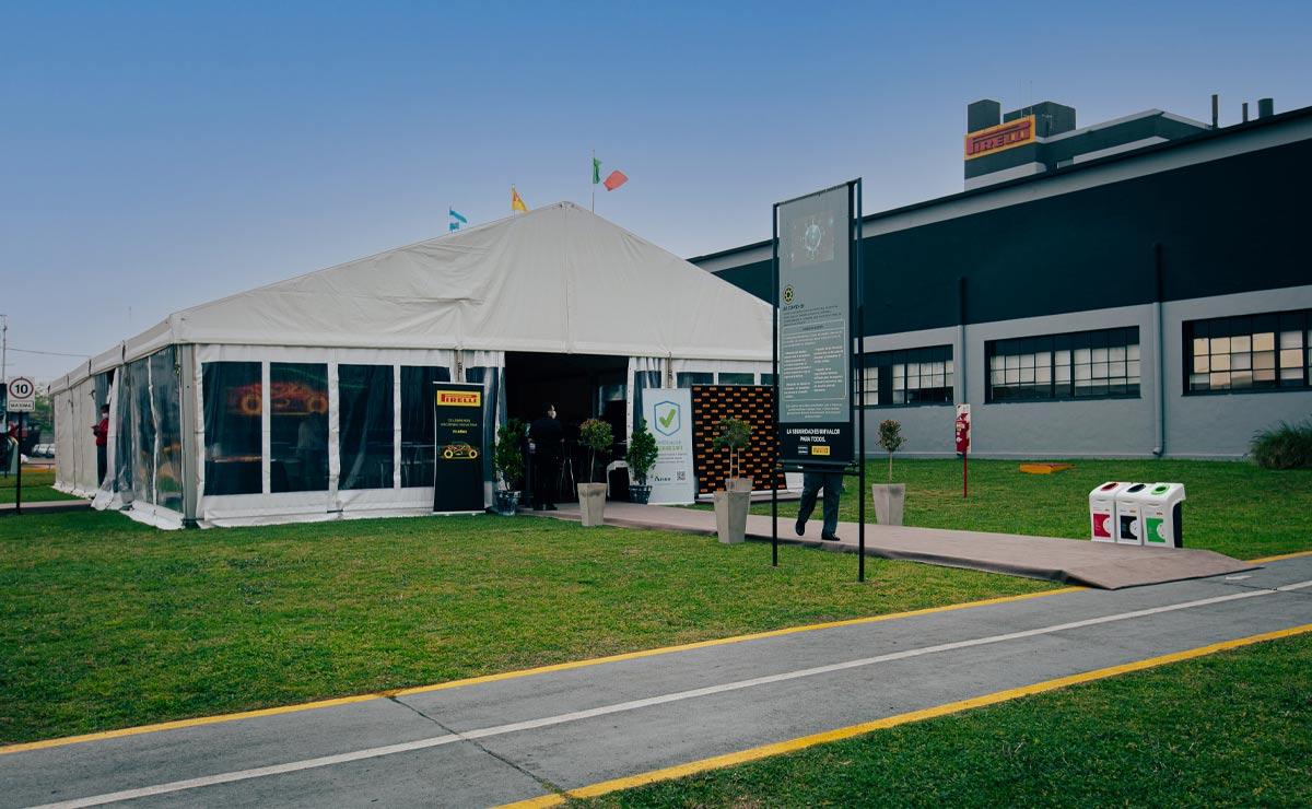 Pirelli 111 años en Argentina evento