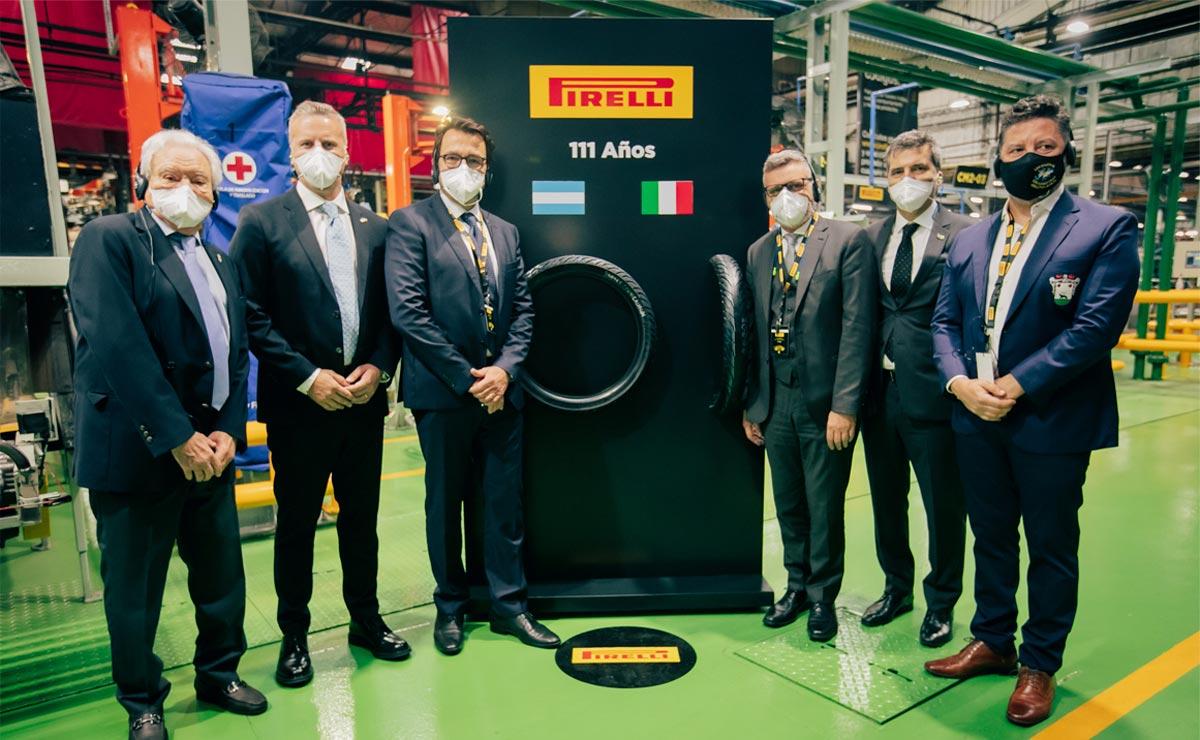 Pirelli 111 años en Argentina neumaticos