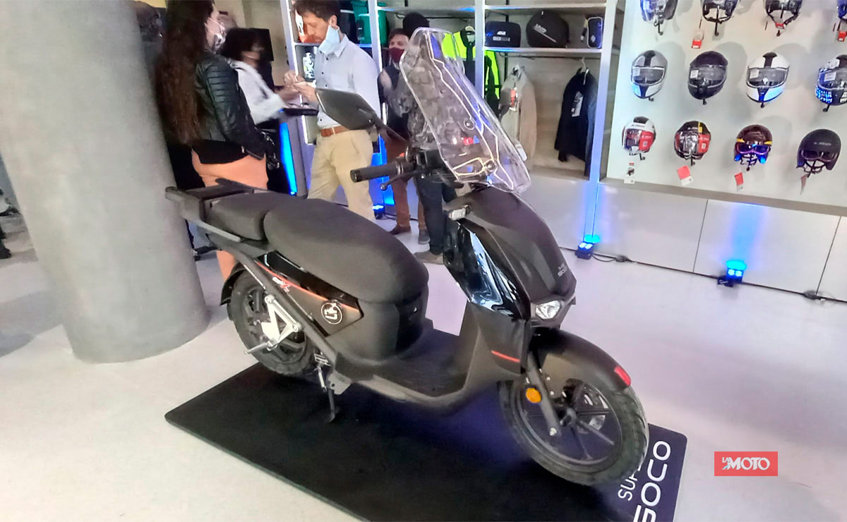 Super Soco primer concesionario en Argentina CPX
