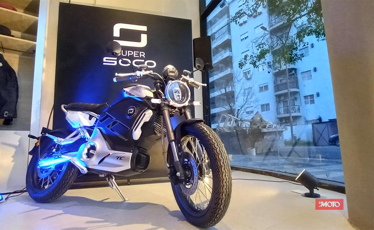 Super Soco primer concesionario en Argentina TC MAX