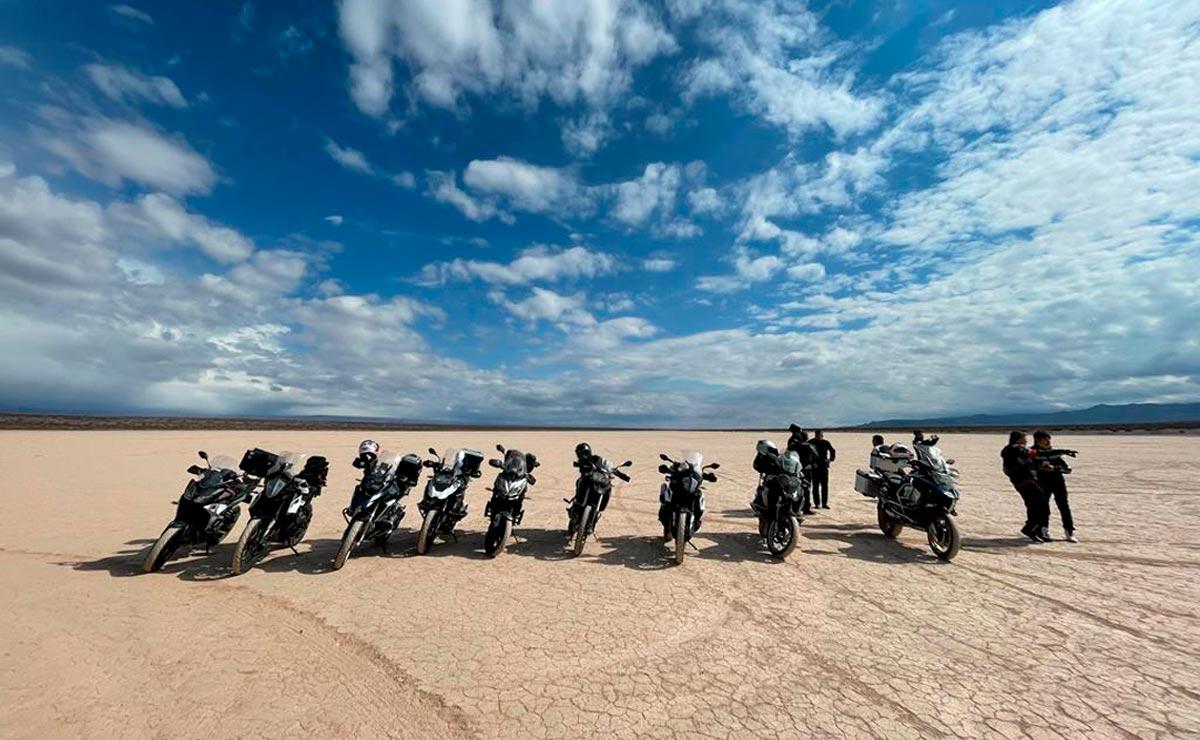 Viajar en moto motos paisaje