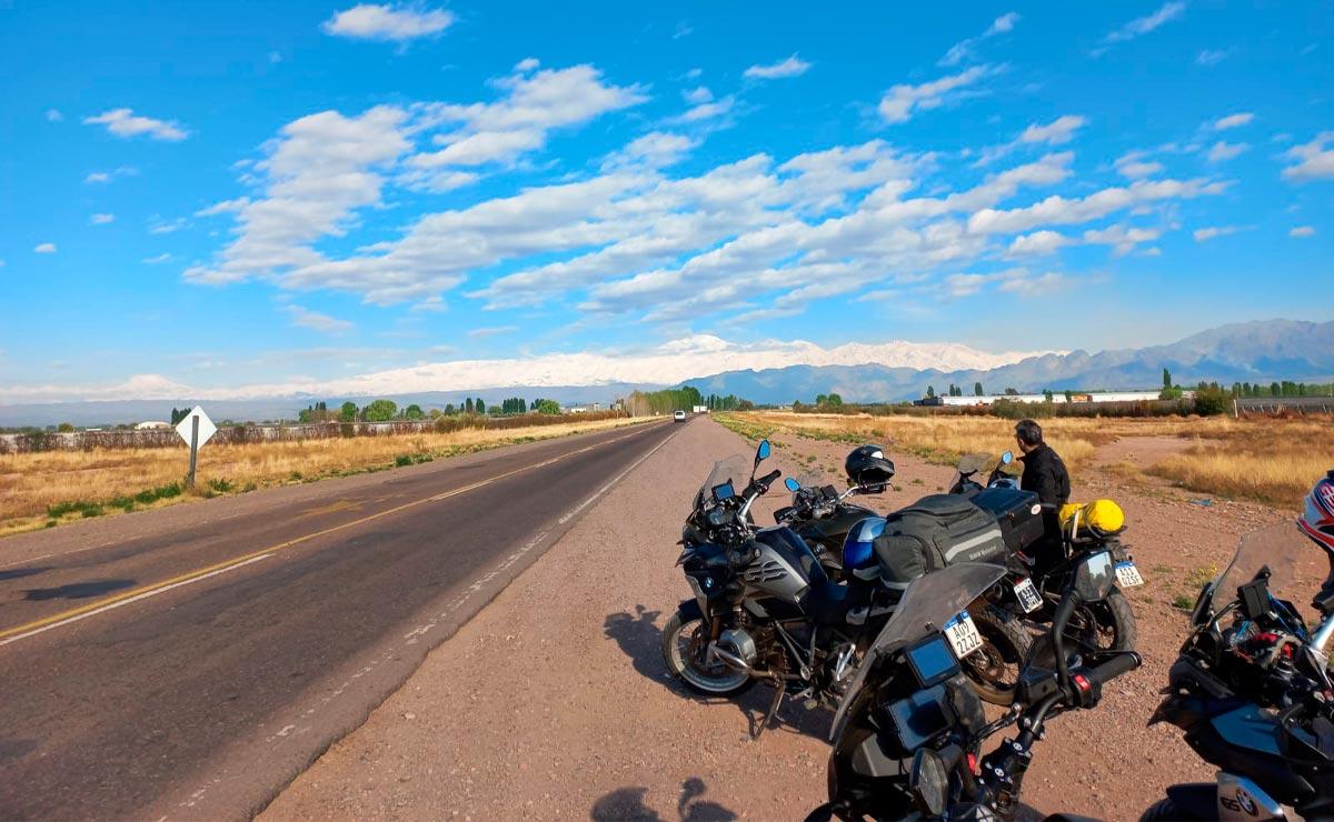 Viajar en moto ruta