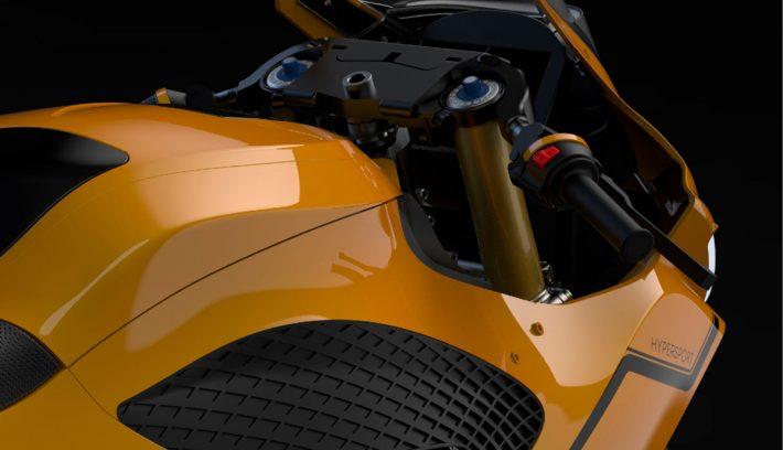 moto deportiva Damon Hypersport