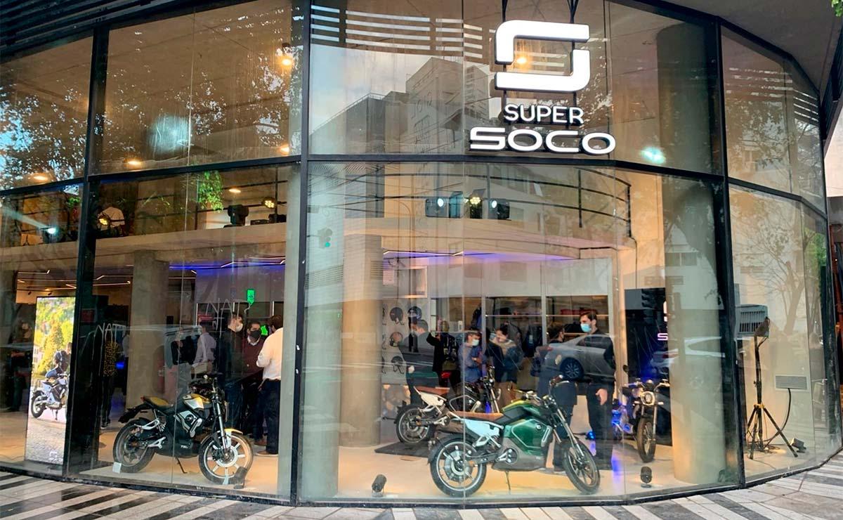 primer concesionario en Argentina motos eléctricas SuperSOCO